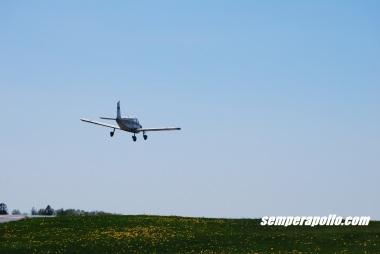 airplane, landing, central jersey regional, piper warrior, aviation
